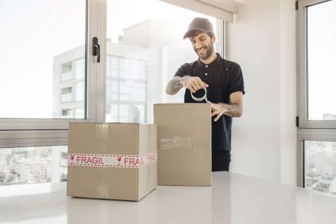 embalar objetos más frágiles
